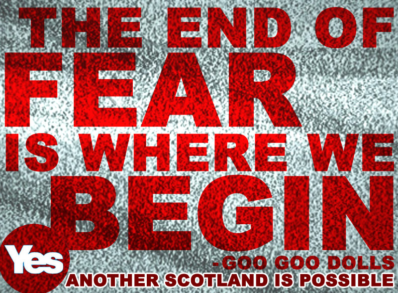 end of fear