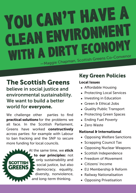 green flyer